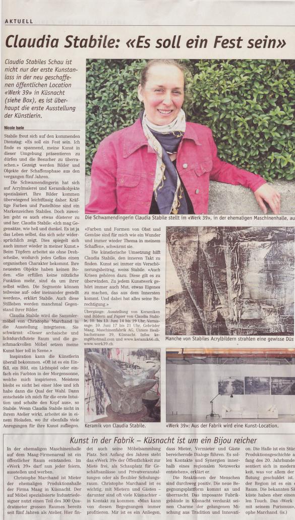 Claudia-Zeitung-Kuesnachter